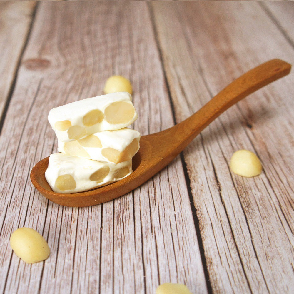 【午後小食光】夏威夷豆牛軋糖(160袋裝/250g禮盒裝)