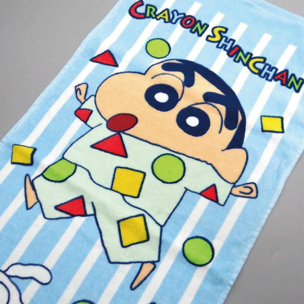 【蠟筆小新】蠟筆小新睡衣派對毛巾 100%棉 33x76cm