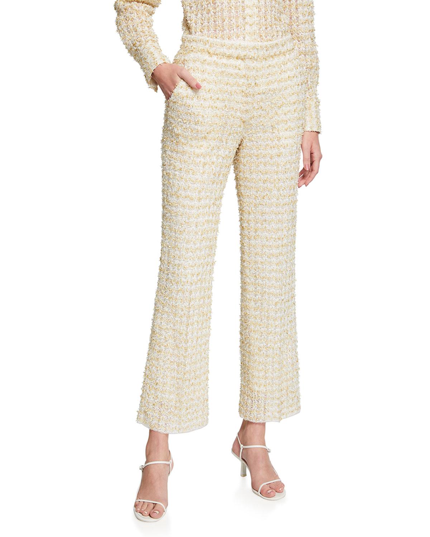 Eyelash Tweed Pants