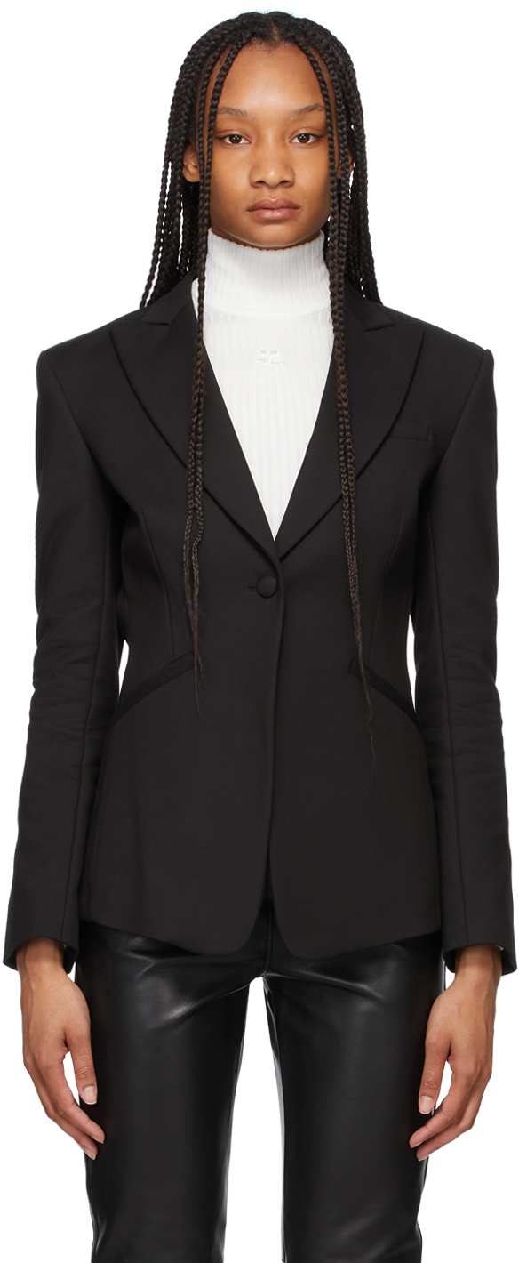Totême 黑色精裁西装外套