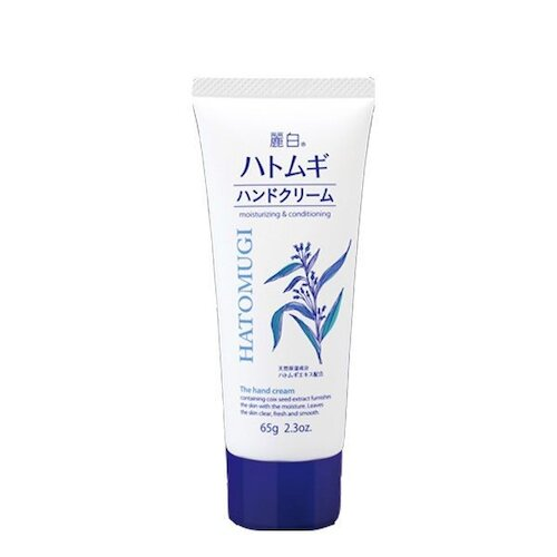 日本【 熊野油脂】 麗白 薏仁護手霜65g