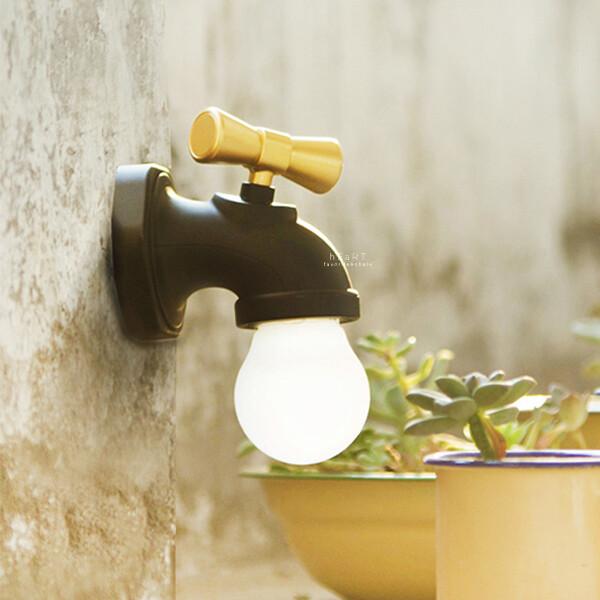水龍頭造型led小夜燈