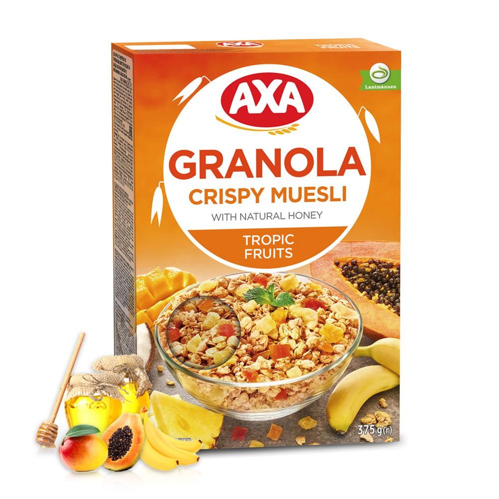 【瑞典AXA】熱帶水果穀物麥片(375g)