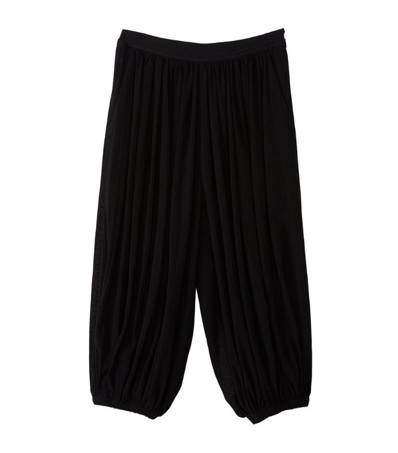 Loewe + Paula'S Ibiza Cropped Balloon Trousers