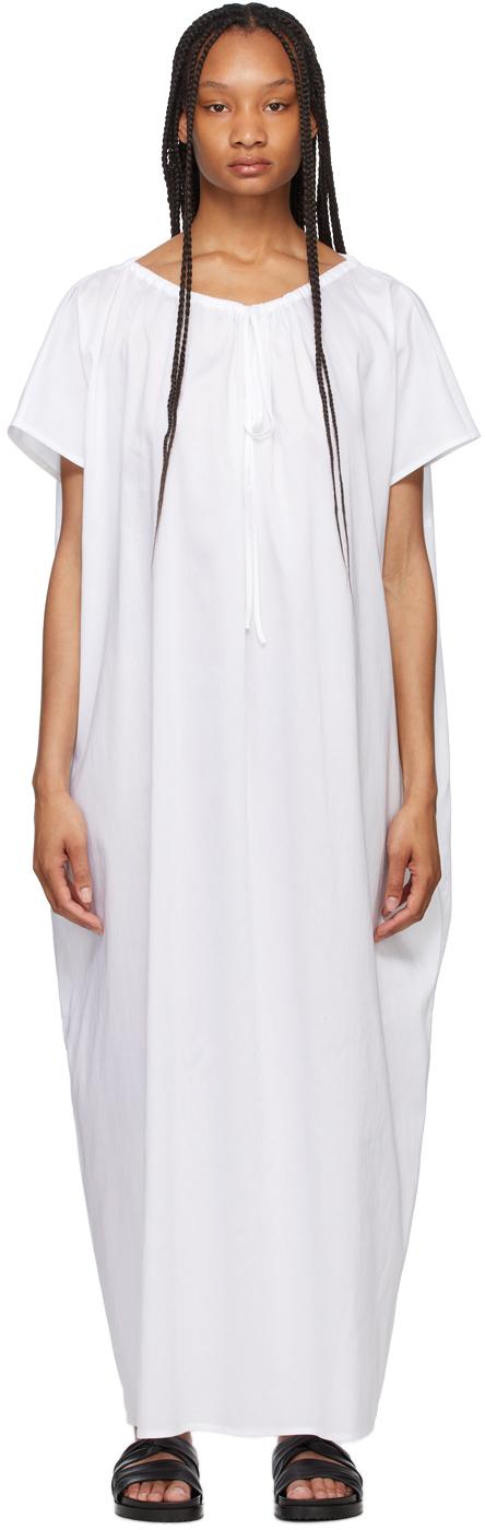 Totême 白色 Tunic 连衣裙