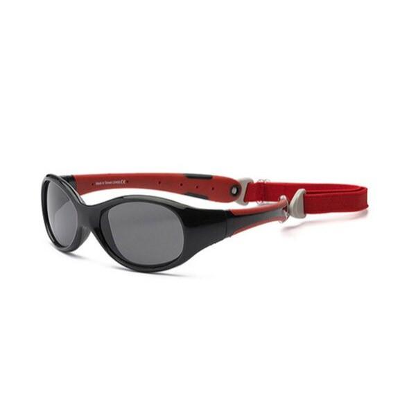 美國RKS 探險家兒童太陽眼鏡-紅黑(0-7歲-3款可選)【麗兒采家】