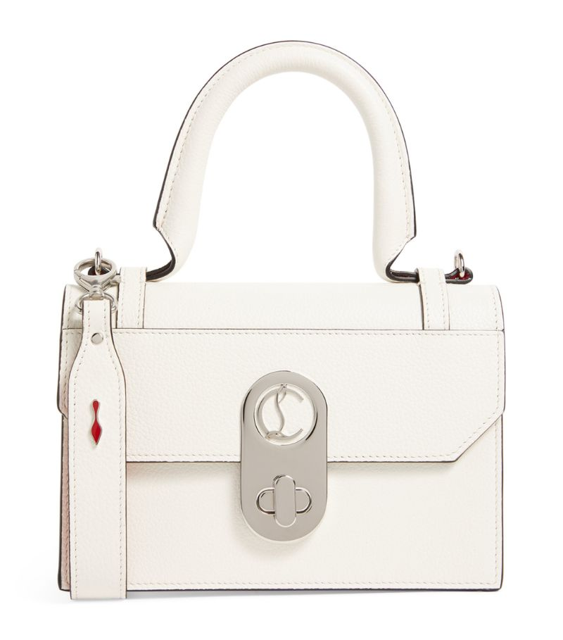 Christian Louboutin Elisa Leather Top-Handle Bag