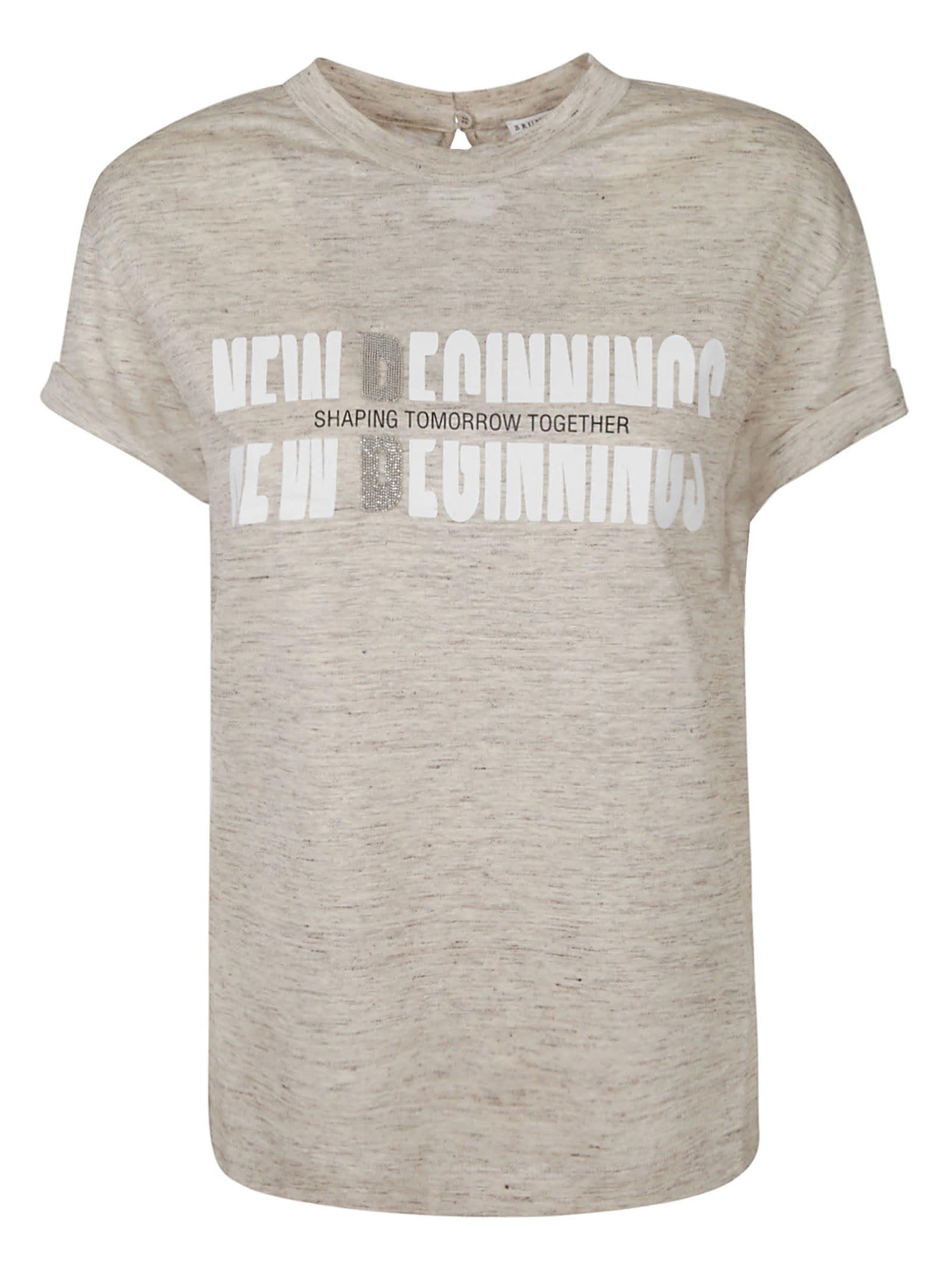 Brunello Cucinelli New Beginnings T-shirt