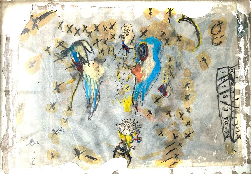 抽象繪畫東佑樹藝術前代未聞の融點
