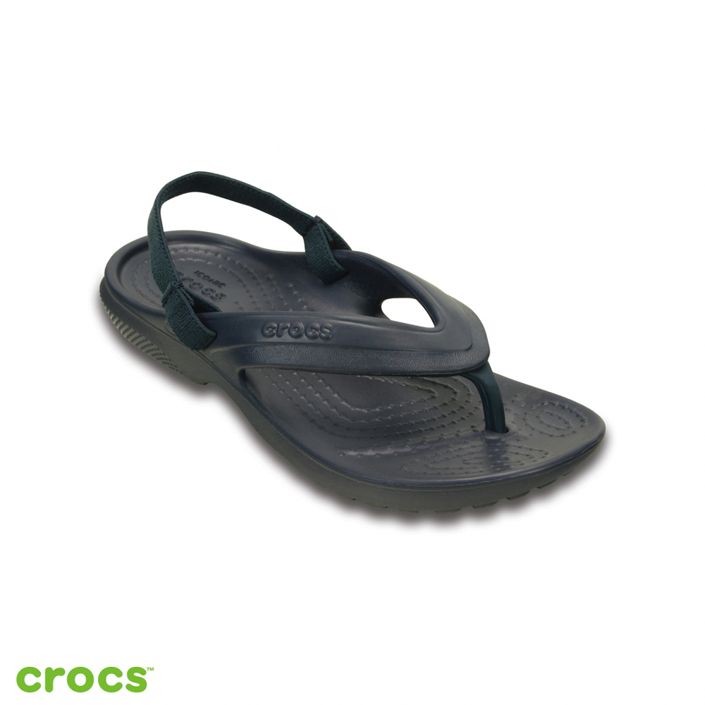 Crocs 卡駱馳 (童鞋) 經典兒童人字拖 202871-410