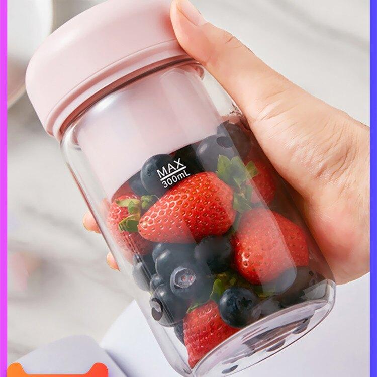 歐覓榨汁機家用便攜式水果學生宿舍小型充電動迷你榨汁杯炸果汁機1 愛尚優品