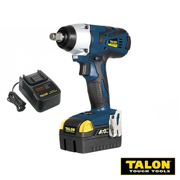 【TALON達龍電動工具】18V鋰電中扭力四極馬達衝擊扳手 TD7933 含充電器電池
