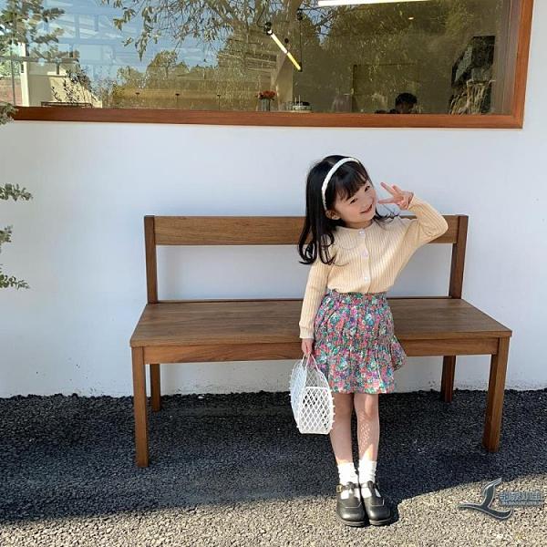 童裝女童半身裙兒童半裙款短裙寶寶碎花洋裝【邻家小鎮】