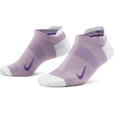 NIKE襪子 運動襪 短襪 6雙組 女款 白紫 CV2964970 W NK EVERYDAY PLUS LTWT NS 3PR