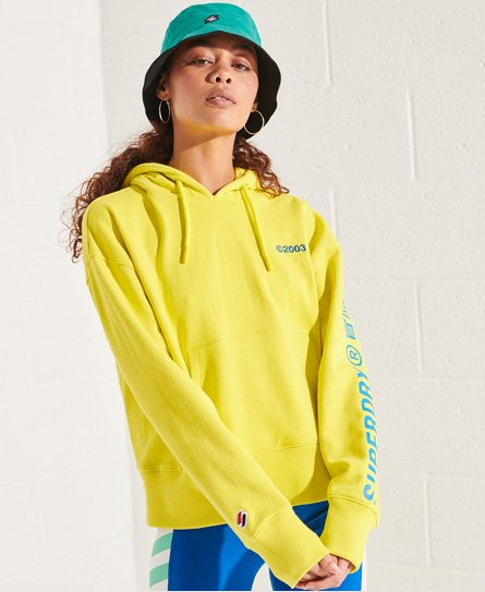 Superdry Corporate Logo Brights Hoodie