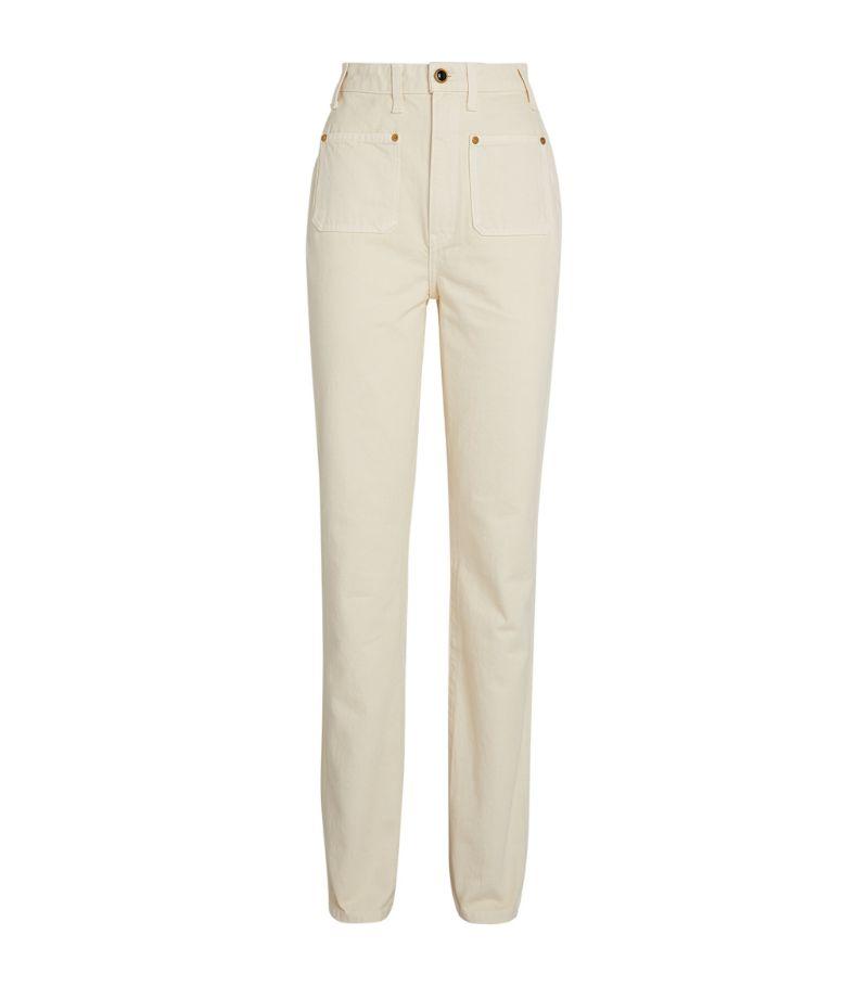 Khaite Straight Isabella Jeans