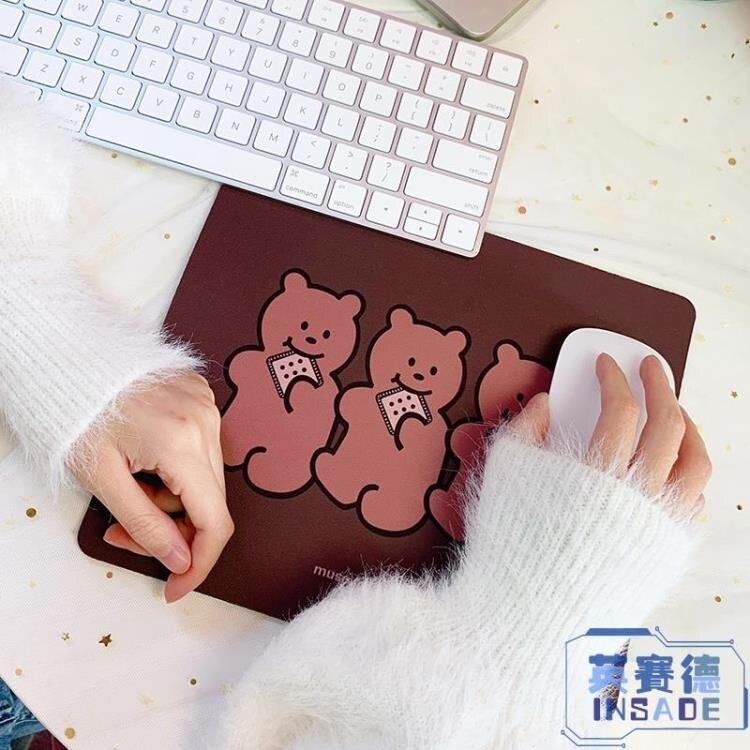 【八折】桌墊鼠標墊女韓版書桌電腦桌面可愛滑鼠墊小號