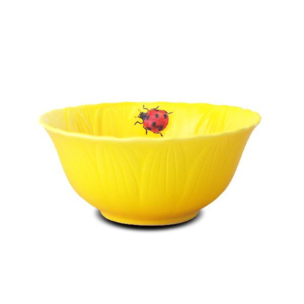 [堯峰陶瓷 ] 限量 免運 日式餐具-向日葵餐具系列 向日葵碗 輕食族待客適用 | 情侶碗|親子碗|大容量|野餐擺盤適