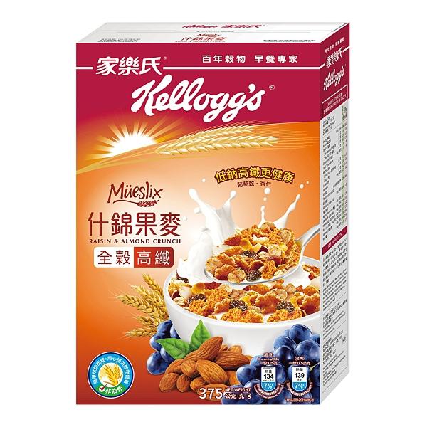Kellogg's 家樂氏 Extra什錦果麥-葡萄乾、杏仁果 375g