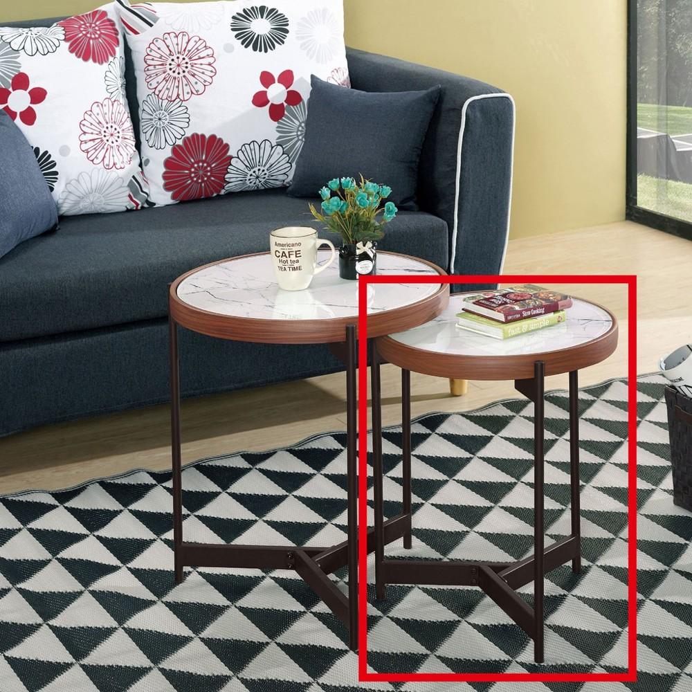 42cm玻璃低茶几-a318-8實木原木玻璃 大理石長方桌 大小邊几 圓桌  金滿屋