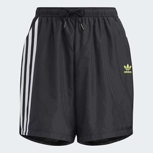 【陸壹捌折後$1680】ADIDAS ORIGINALS ADICOLOR 短褲 黑 女子 HA2277