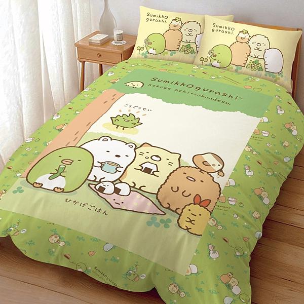 床包被套組 / 雙人【角落小夥伴 樹下野餐日系列】含兩件枕套 高密度磨毛 戀家小舖台灣製