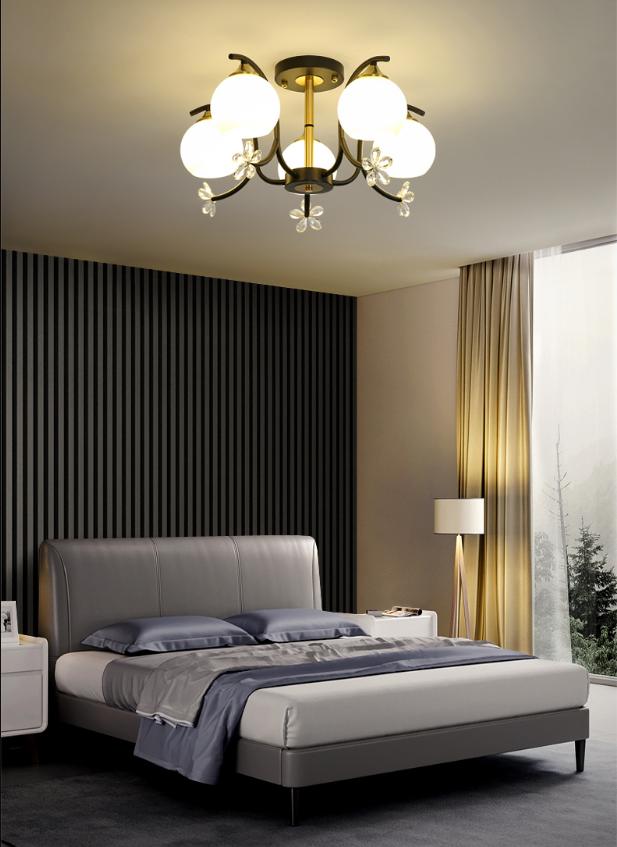 5頭 燈 燈具 新款吸頂燈 玄關燈 樓道燈 簡約現代主臥室燈溫馨客廳燈北歐個性現代led吸頂燈具