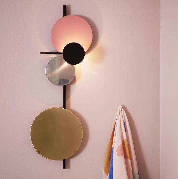 大號 燈 燈具 走廊燈 北歐ins風格客廳燈 壁燈 設計師輕奢臥室燈 床頭燈背景墻創意藝術裝飾壁燈