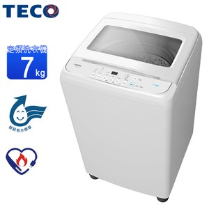 火速配★北區~TECO東元7KG定頻智慧洗衣機 W0701FW