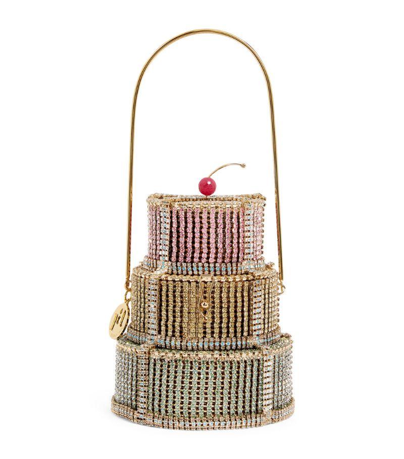 Rosantica Embellished Anniversary Cake Top-Handle Bag