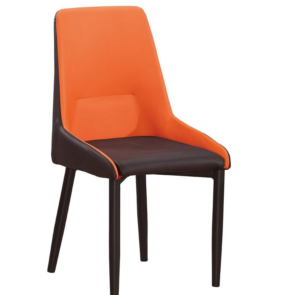 44cm皮革餐椅-a708-8餐椅 北歐工業風 書桌椅 長凳 實木椅 皮椅布椅 餐廳吧檯椅 會議椅