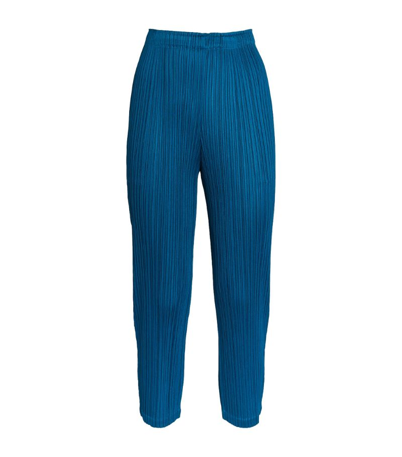 Pleats Please Issey Miyake Monthly Colors February Cropped Trousers