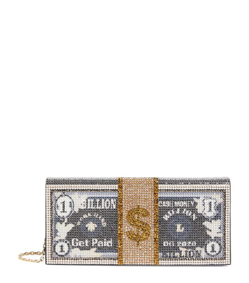 Judith Leiber Embellished Billions Envelope Clutch Bag