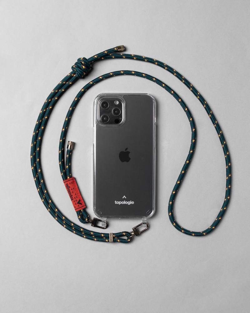 Verdon 繩索背帶手機殼 / 森林綠