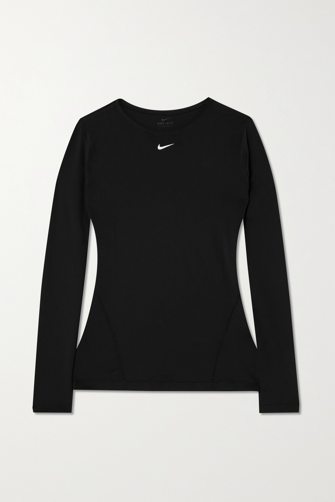 NIKE - Pro Perforated Stretch-mesh Top - Black - x small