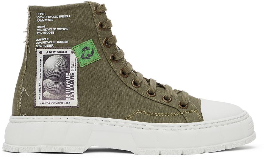 Virón 军绿色 1982 高帮运动鞋