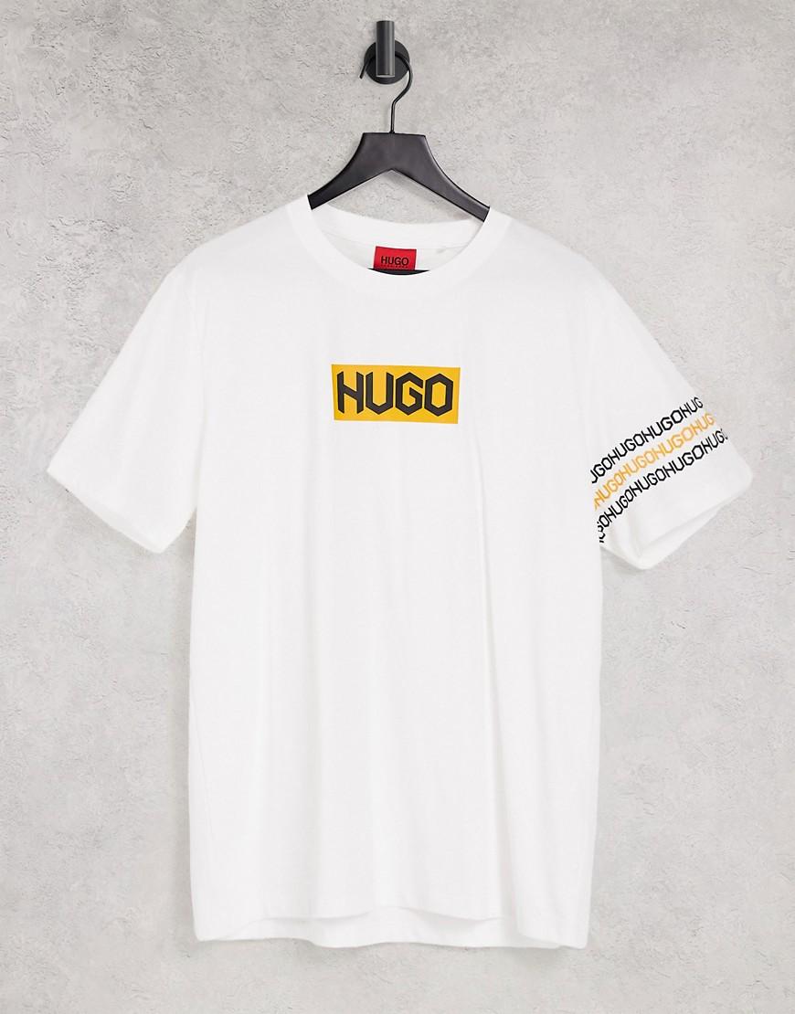 HUGO Dake t-shirt in white