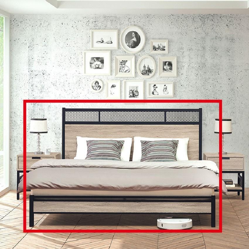184cm床架式床台-e105-10床底 床架 高腳床組 抽屜收納 臥房床組 金滿屋