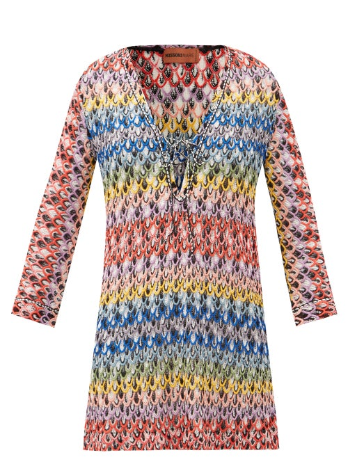 Missoni Mare - Conchiglia Crochet Cover Up - Womens - Multi