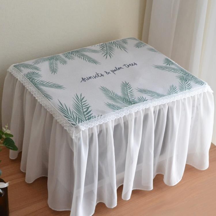 四面微波爐套子防塵罩全包烤箱罩格蘭仕美的微波爐簾蓋巾蓋布北歐