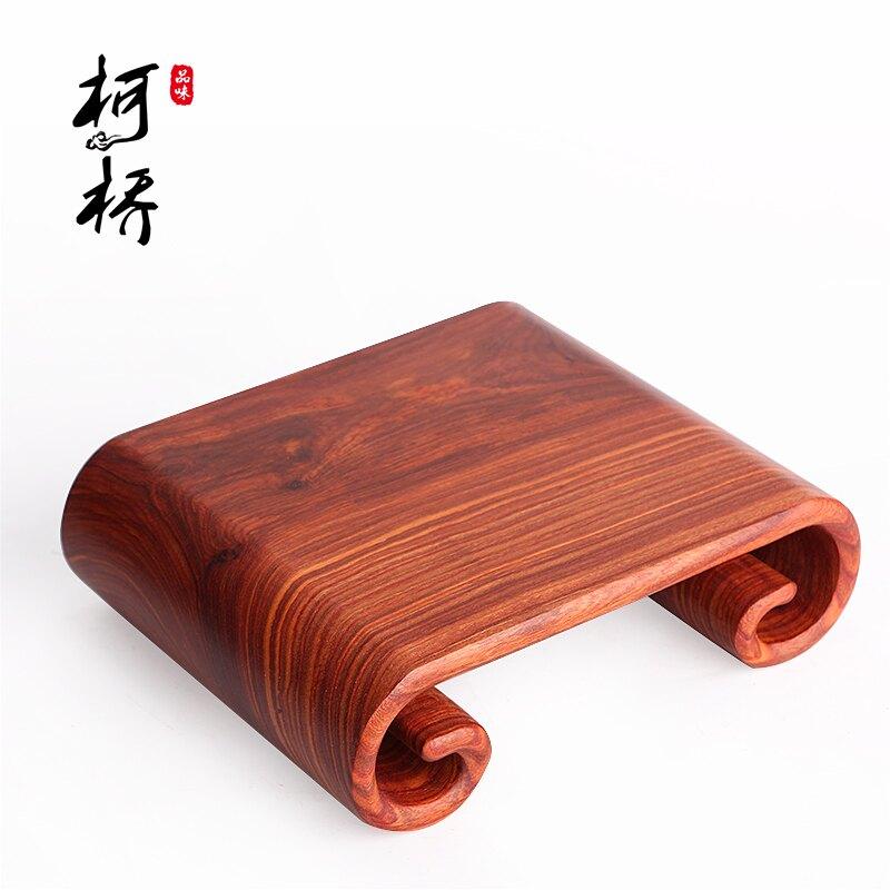 紅檀木雕書卷魚缸工藝品玉石頭擺件底座托架盤實木奇石佛像紫砂壺