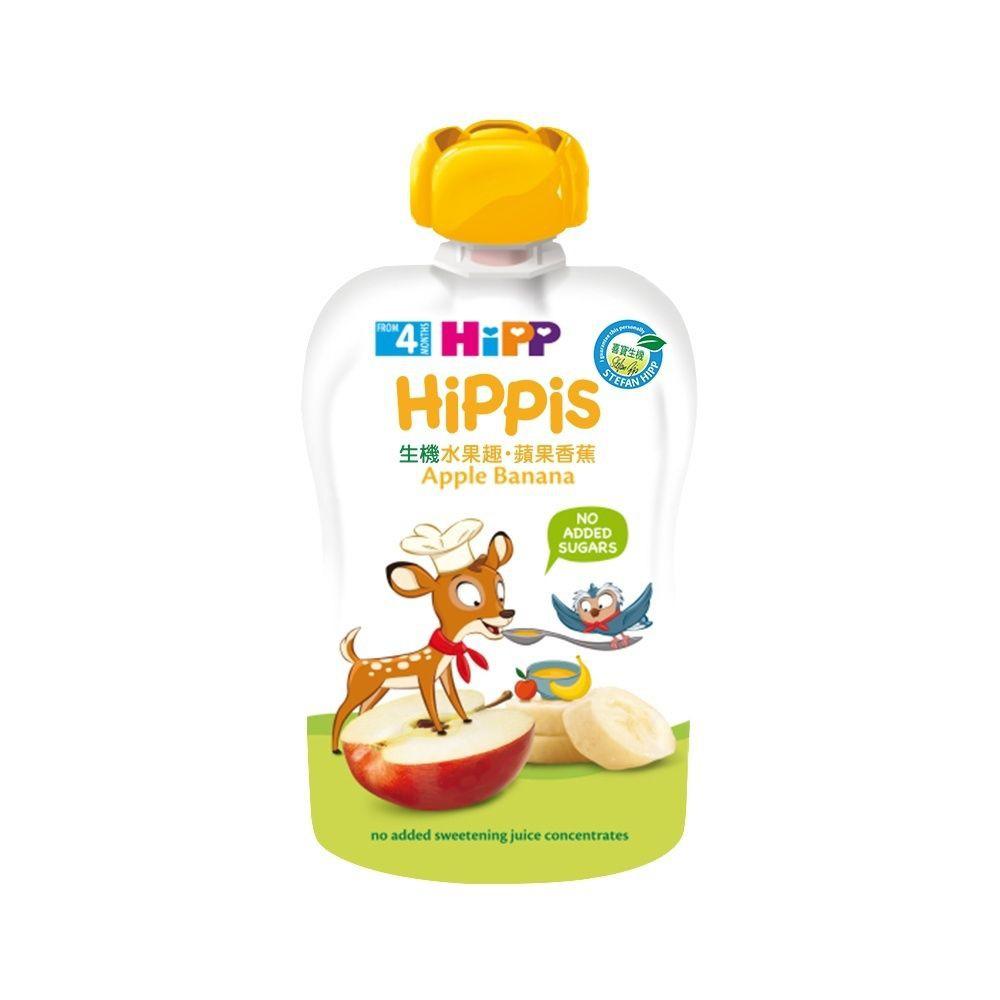 Hipp喜寶生機水果趣 蘋果香蕉 (AL8573-U) 79元 (買 6 送一)