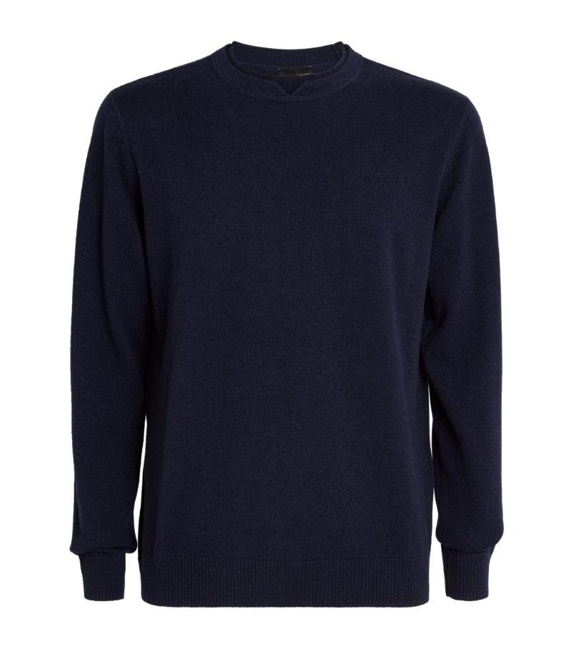 Emporio Armani Wool-Cashmere Sweater