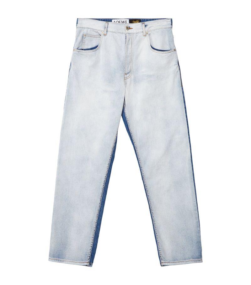 Loewe + Paula'S Ibiza Two-Tone Straight Jeans