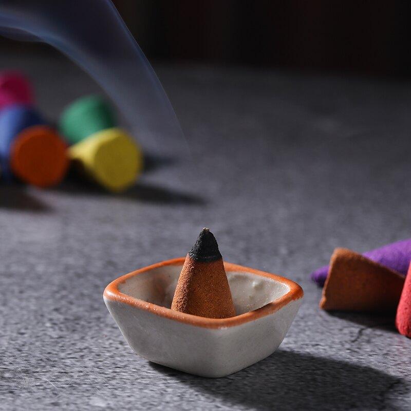 塔香錐香室內凈化空氣純家用天然艾草檀香水沉香泰國香薰供佛熏香