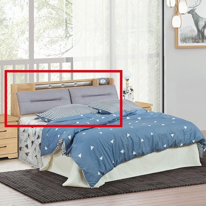 151cm床頭箱-e137-1床頭片 床頭櫃 床片 貓抓皮 亞麻布 貓抓布 金滿屋