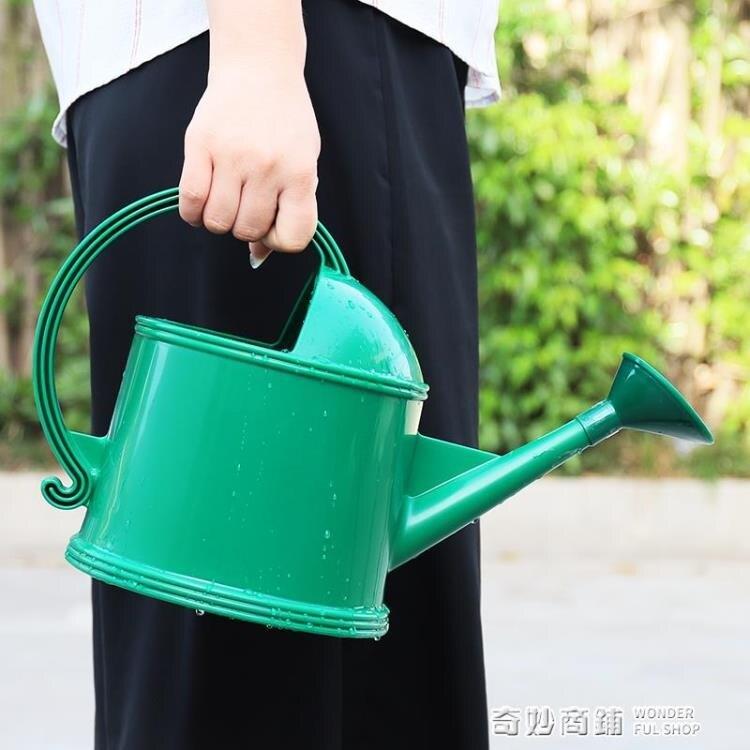 愛麗思水壺家用灑花壺園藝澆水壺大淋花噴壺長嘴噴水壺澆花壺