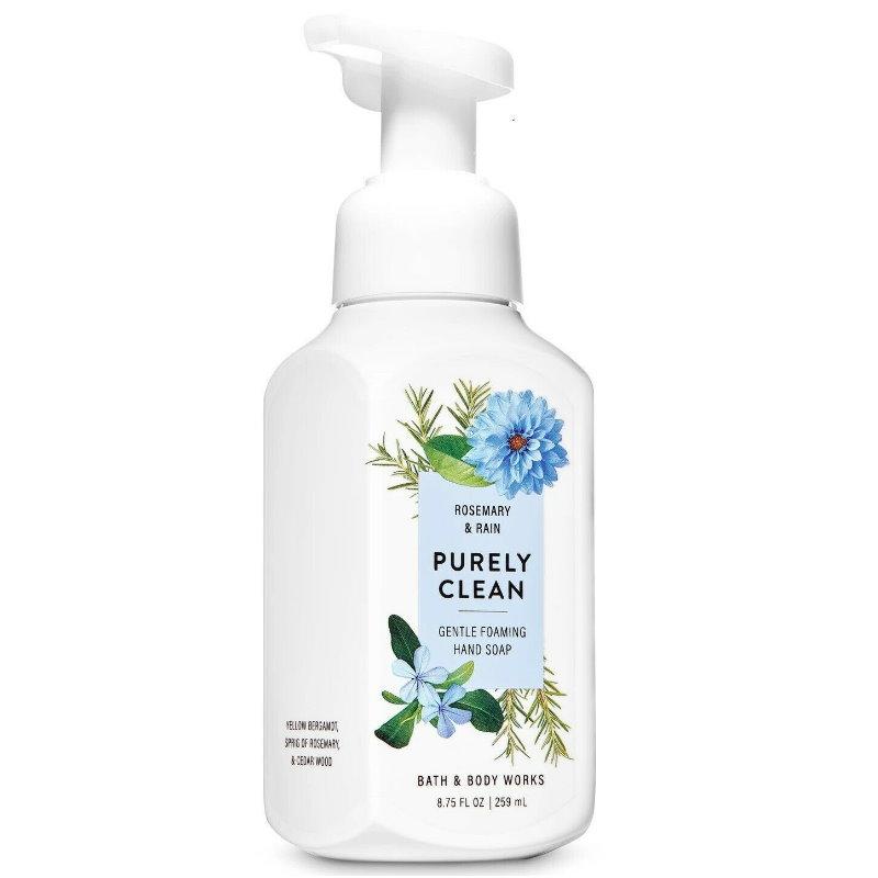 《Bath & Body Works BBW 》泡沫慕斯洗手液【純淨潔白-迷迭香雨】Rosemary &Rain 259ML