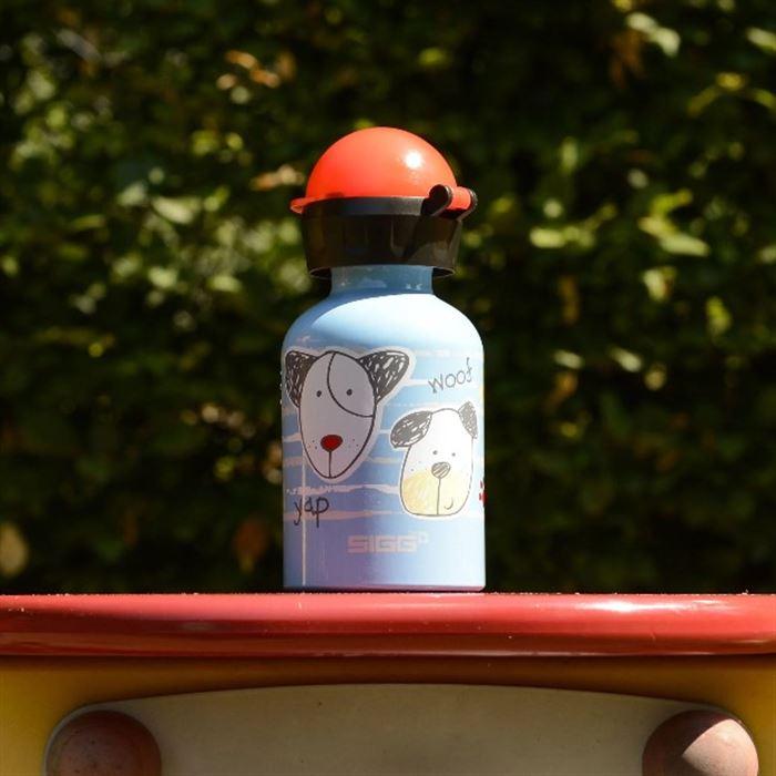【瑞士百年SIGG】兒童冷水壺 300ml -小狗