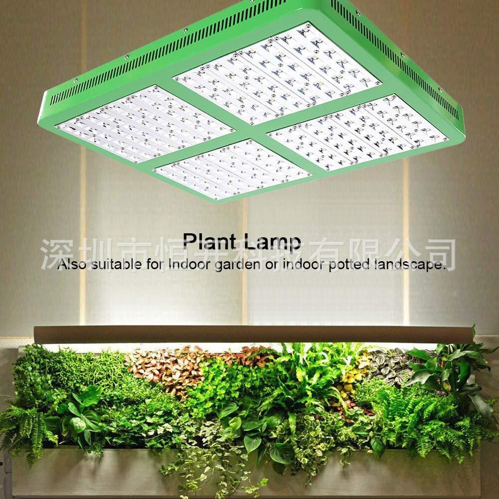 熱銷新品 【照的更遠】大功率 植物燈雙芯3000W LED植物生長燈全光譜室內補光燈溫室生長燈綠色